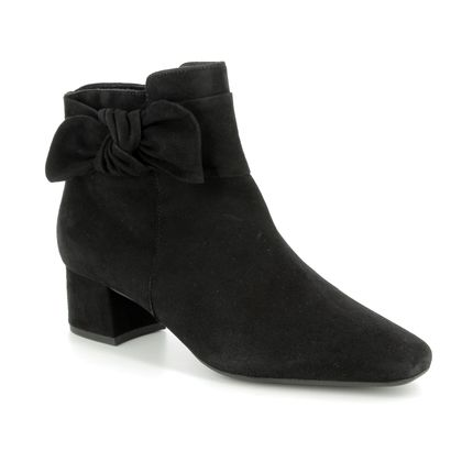 Peter Kaiser Fashion Ankle Boots - Black suede - 91227/240 TAMINA