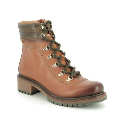 Pikolinos Boots - Ankle - Tan Leather  - W9Z8634/C1 ASPE