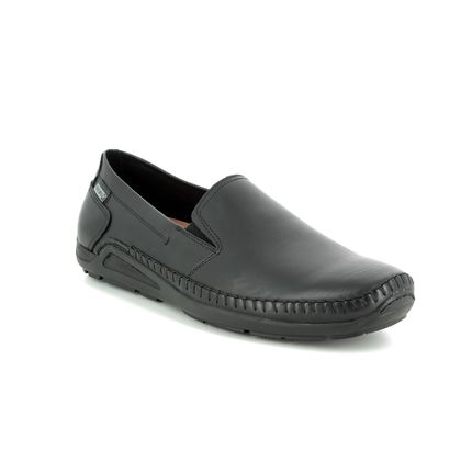 Pikolinos Slip-on Shoes - Black leather - 06H5303/30 AZOR