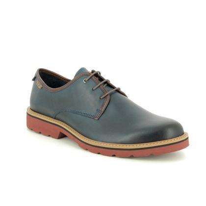 Pikolinos Smart Shoes - BLUE LEATHER - M6E4333/72 BILBAO