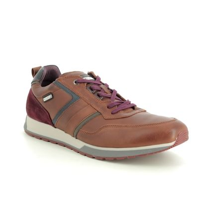 Pikolinos Trainers - Tan Leather - M5N6280/C1 CAMBIL 95
