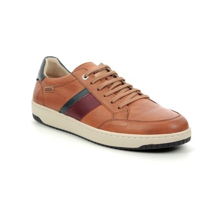 Pikolinos Trainers - Tan Leather  - M1M6226/20 CORINTO