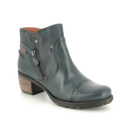 Pikolinos Boots - Ankle - Navy Leather - 8388991/72 LE MANS