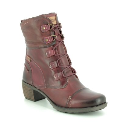 Pikolinos Boots - Ankle - Wine leather - 8388990/80 LE MANS LACE