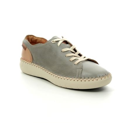 Pikolinos Comfort Lacing Shoes - Grey leather - W0Y6836/00 MESINA