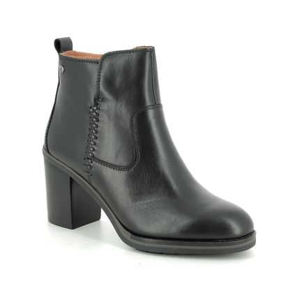 Pikolinos Boots - Ankle - Black leather - W9T8594/30 POMPEYA