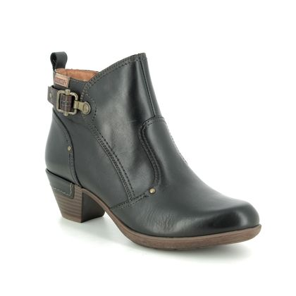 Pikolinos Boots - Ankle - Black leather - 9028605/C1 ROTTERDAM 95