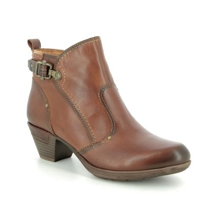 Pikolinos Boots - Ankle - Tan Leather - 9028605/C1 ROTTERDAM 95