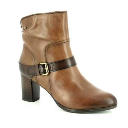 Pikolinos Fashion Ankle Boots - Tan Leather - W3N8690/11 VIENA