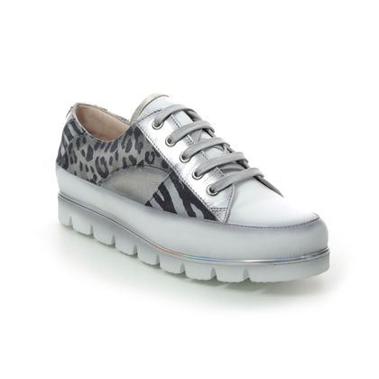 Pinto Di Blu Comfort Lacing Shoes - Silver multi - 2083223402 FOEPARD