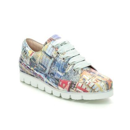 Pinto Di Blu Comfort Lacing Shoes - White Leather - 2081723402 FOETON