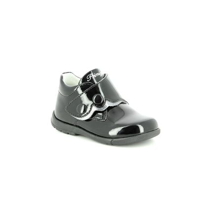 Primigi 1st Shoes & Prewalkers - Black patent - 24023/00 AMBY