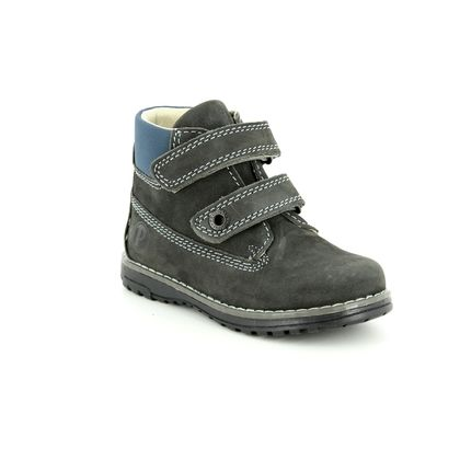 Primigi Infant Boys Boots - Grey nubuck - 24129/44 ASPY