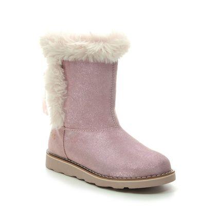 Primigi Girls Boots - Pink suede - 4422111/60 B&G TEAM GTX