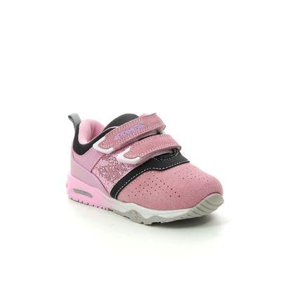 Primigi Girls Trainers - Pink suede - 4461622/60 BABY AIR LIGHT