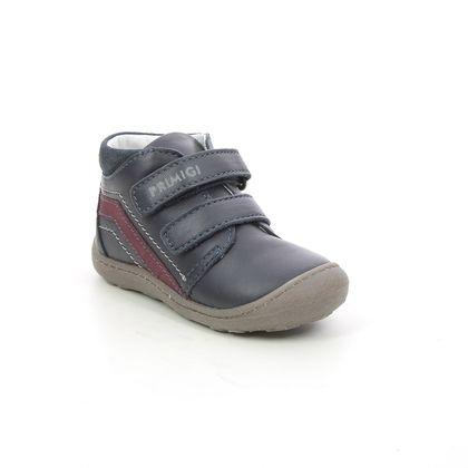 Primigi 1st Shoes & Prewalkers - Navy Leather - 8408000/ BABY BALLOON B