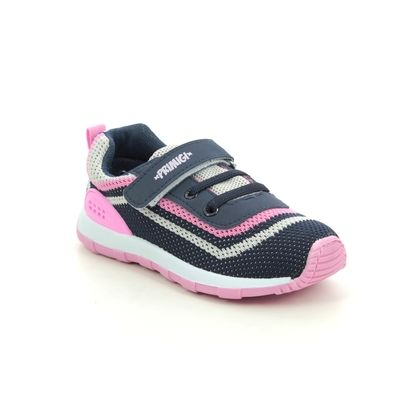Primigi Girls Trainers - Navy Pink - 5446100/76 BABY RUN GIRL