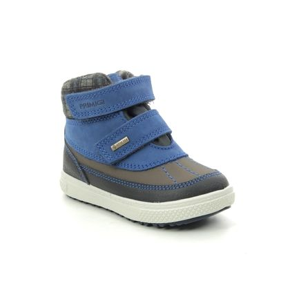 Primigi Infant Boys Boots - BLUE LEATHER - 6360111/70 BARTH  19 GTX
