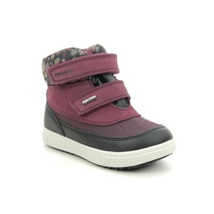 Primigi Infant Girls Boots - Burgundy Leather - 6360122/81 BARTH  19 GTX