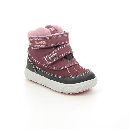 Primigi Infant Girls Boots - Burgundy - 8357922/ BARTH  19 GTX