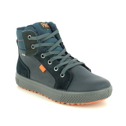 Primigi Boys Boots - Navy suede - 6396922/70 BARTH LACE GTX