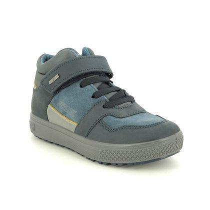 Primigi Boys Boots - Navy Suede - 6397222/70 BARTH  VEL GTX
