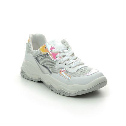 Primigi Girls Trainers - White-silver - 5381111/66 CASSIAN