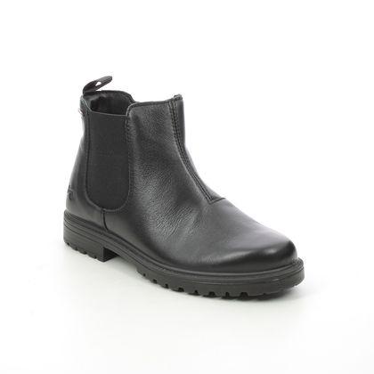 Primigi Girls Boots - Black leather - CHRIS CHELSEA GTX