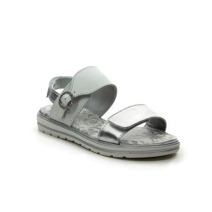 Primigi Girls Sandals - White silver - 3434933/66 FANTASY GLAM