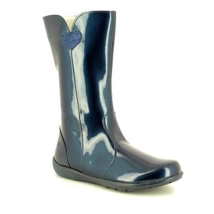 Primigi Girls Boots - Navy patent - 24310/11 FLORA