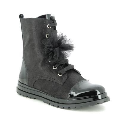 Primigi Girls Boots - Black patent - 4440611/30 GLAMOUR