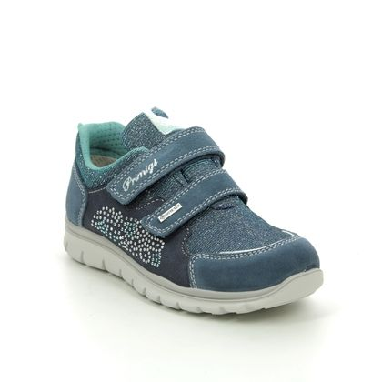Primigi Girls Trainers - Blue Suede - 5373211/70 HILOS GTX
