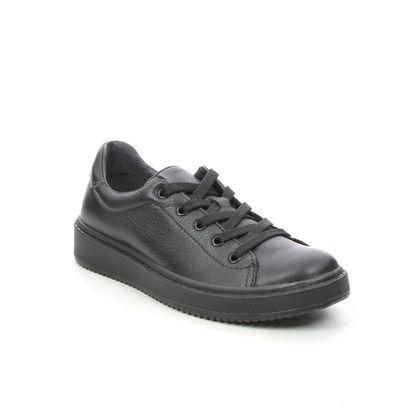 Primigi Boys Shoes - Black leather - 8378000/ LUCA   LACE