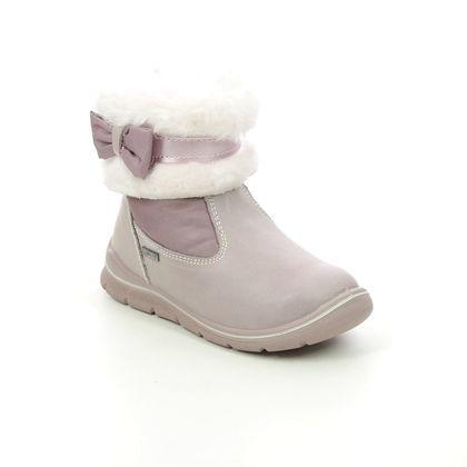 Primigi Infant Girls Boots - Pink Leather - 8352633/ SKATE  FUR GTX