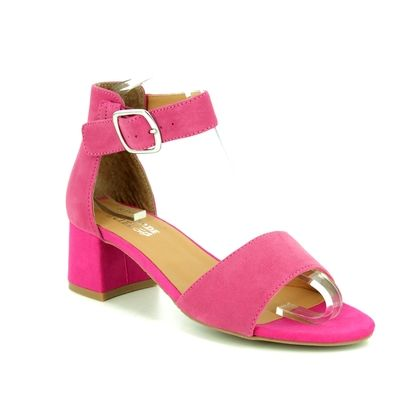 Regarde le Ciel Heeled Sandals - Fuchsia - 4150/80 CATTY 08