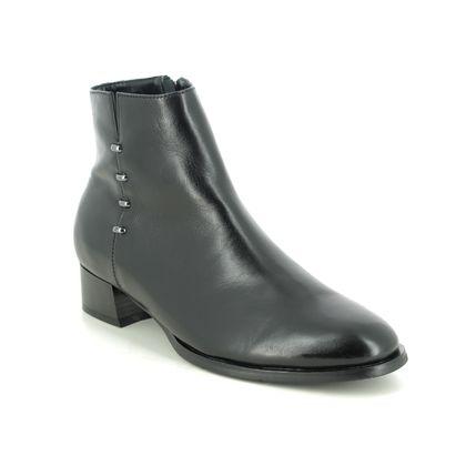 Regarde le Ciel Ankle Boots - Black leather - 2001/003 CHERRY 01