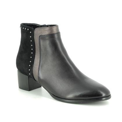 Regarde le Ciel Boots - Ankle - Black leather - 9501/30 CORINNE 15