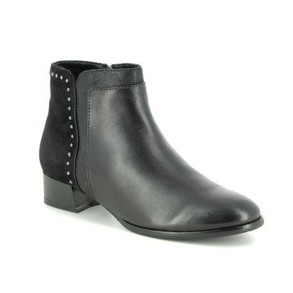 Regarde le Ciel Boots - Ankle - Black leather - 4620/30 CRISTION 25