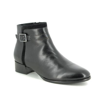 Regarde le Ciel Boots - Ankle - Black leather - 2663/30 CRISTION 37