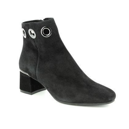 Regarde le Ciel Fashion Ankle Boots - Black Suede - 3071/33 ILLARY 19
