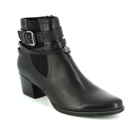 Regarde le Ciel Fashion Ankle Boots - Black leather - 1003/30 ISABEL 26