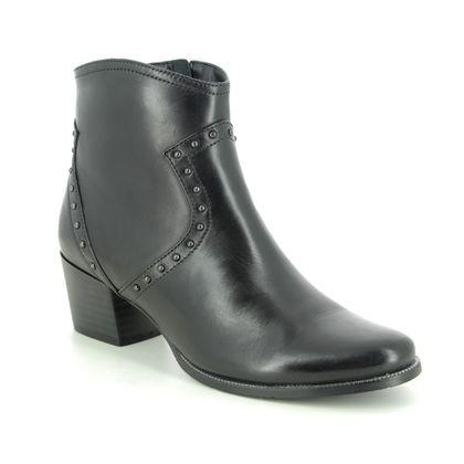 Regarde le Ciel Boots - Ankle - Black leather - 2083/2695 ISABEL 83