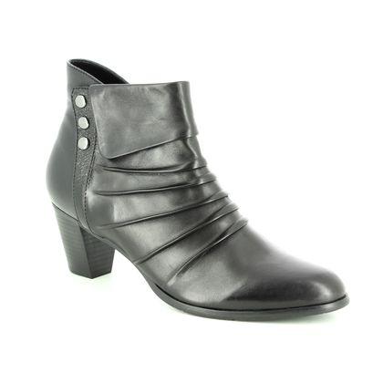 Regarde le Ciel Fashion Ankle Boots - Black leather - 3762/30 SONIA 21