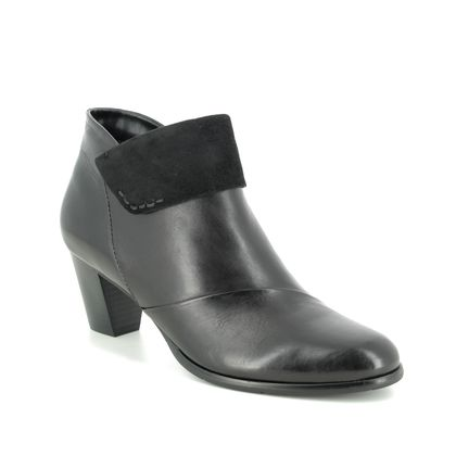 Regarde le Ciel Boots - Ankle - Black leather - 2700/30 SONIA  37