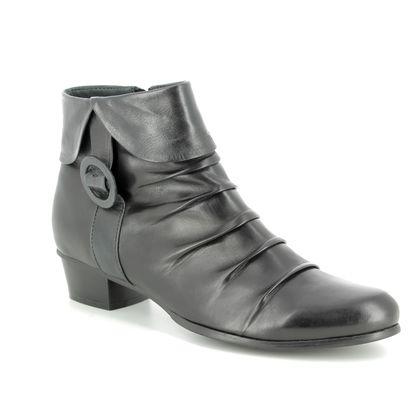 Regarde le Ciel Fashion Ankle Boots - Black grey - 1007/30 STEFANY 130