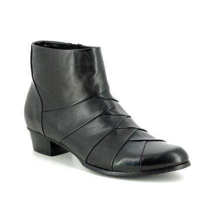 Regarde le Ciel Boots - Ankle - Black Navy combi - 9118/30 STEFANY 172