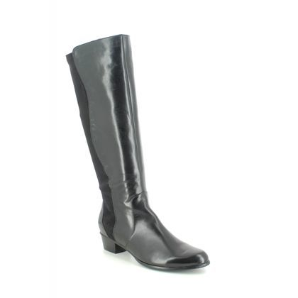 Regarde le Ciel Knee High Boots - Black leather - 0274/3761 STEFANY 274
