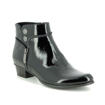 Regarde le Ciel Boots - Ankle - Black patent - 2800/40 STEFANY 277