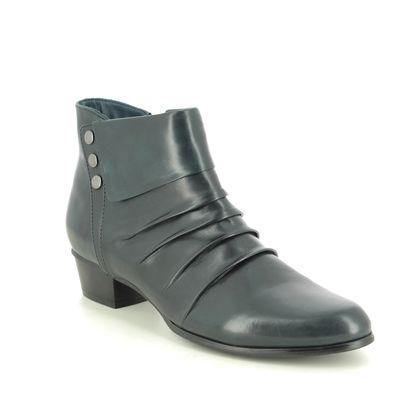 Regarde le Ciel Boots - Ankle - Navy Leather - 0278/150 STEFANY 278