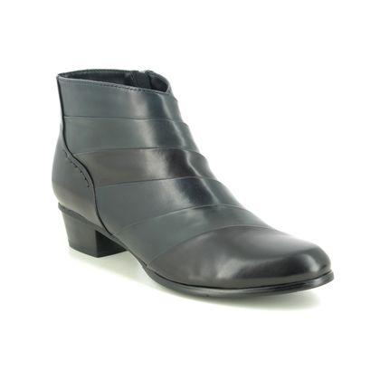 Regarde le Ciel Boots - Ankle - Black Navy combi - 0293/118 STEFANY 293